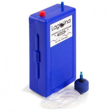 Фото Компрессор Laguna 3800М мобильный, 2*1,5 Вт, 0,8 л/ мин, 14.9*7.9*4.8 см