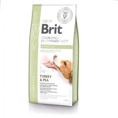 Фото Brit Veterinary Diet Dog Grain Free Diabetes беззерновая диета при диабете