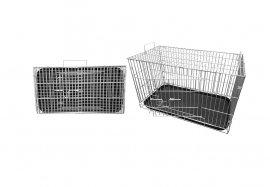 Фото Клетка для животных Кл-С-6 с пластиковым поддоном Данко 39*72*43 см
