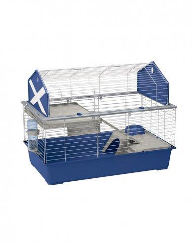 Фото Клетка Barn 120 для кроликов (синяя) Ferplast (119*58*77 см)