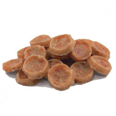 Фото Triol мини-медальоны из курицы для мини-собак, 50 г