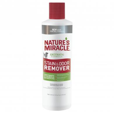 Фото Уничтожитель пятен и запахов Nature`s Miracle Dog Stain & Odor Remover 473 мл