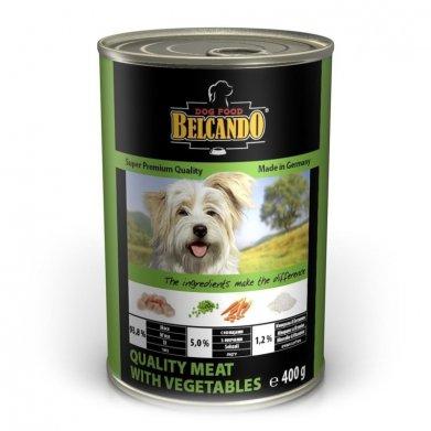 Фото Консервы Belcando Super Premium Quality Meat With Vegetables мясо с овощами для собак