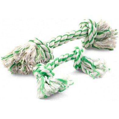 Фото  Верёвка для собак с ментолом DT-26 2 узла 15 см