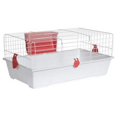 Фото Клетка Voltrega для грызунов (930) белая, 80*46*36 см