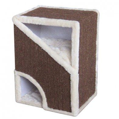 Фото Когтеточка-домик PS17 40*35*60 см от Pet Choice