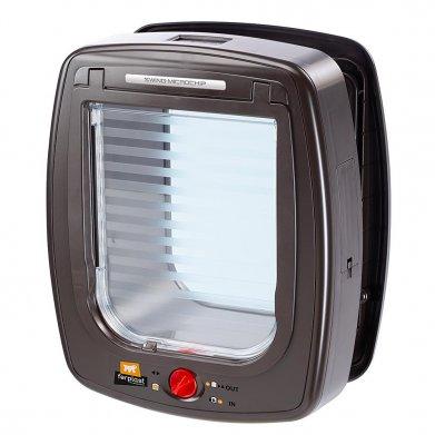 Фото Дверь Ferplast Swing Microchip Large с определителем микрочипа