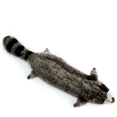 Фото D9016 Игрушка плюшевая Енот с двумя пищалками, 25 см