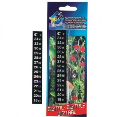 Фото Термометр Flamingo цифровой для аквариума 2*12 см