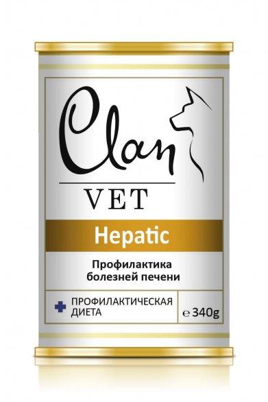 Фото Консервы Clan Vet Hepatic Профилактика болезней печени 340 г