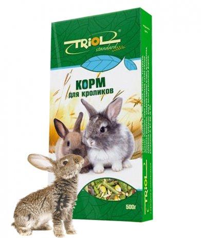 Фото Triol Standard корм для кроликов, 500 гр