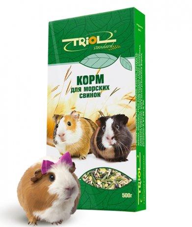 Фото Triol Standard корм для морских свинок, 500 гр