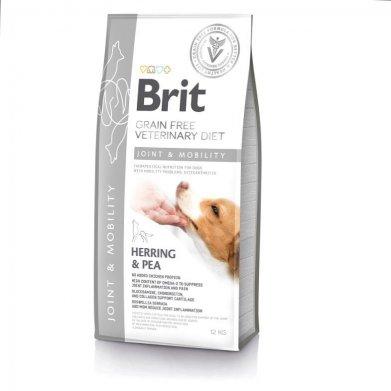 Фото Brit Veterinary Diet Dog Grain Free Joint & Mobility беззерновая диета при заболеваниях суставов и нарушениях подвижности