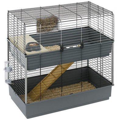Фото Клетка Rabbit 100 Double двухэтажная для кроликов Ferplast (95*57*93.5 см)