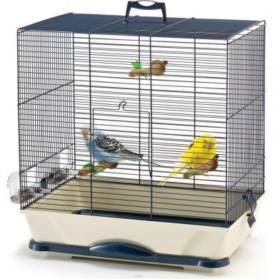 Фото Клетка Savic для птиц Primo 30 синяя (42*25*41,5 см)