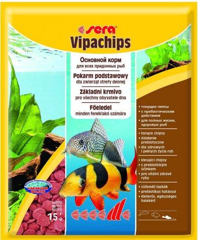 Фото Корм Sera для сомов и донных рыб Vipachips 15 г