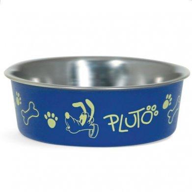 Фото Миска Triol металлическая на резинке Disney Mickey & Pluto