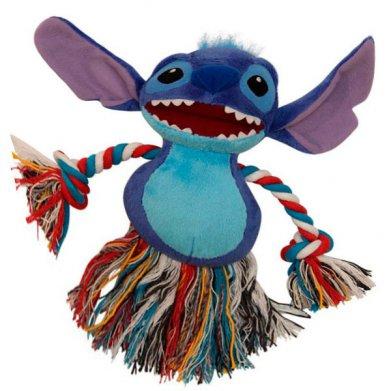 Фото WD1016 Мягкая игрушка с канатом Stitch 15 см