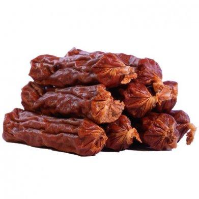 Фото Triol пикантные сосиски из ягненка с уткой для собак, PT08, 70 г