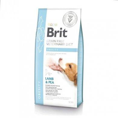 Фото Brit Veterinary Diet Dog Grain Free Obesity беззерновая диета при избыточном весе и ожирении 2 кг