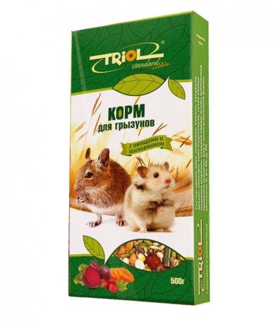 Фото Triol Standard корм для грызунов с овощами и шиповником , 500 гр