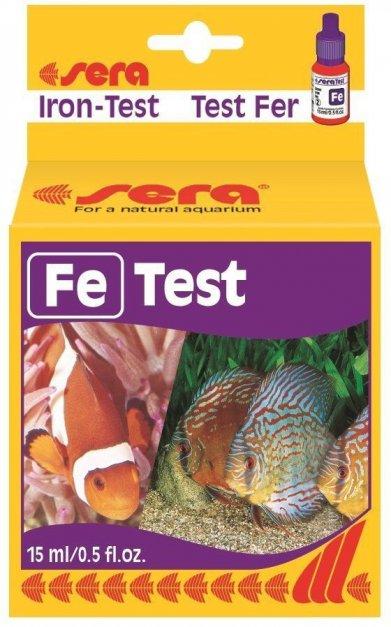 Фото Тест Sera для воды Fe-Test железо 15 мл