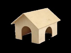 Фото Gamma домик для морской свинки деревянный
