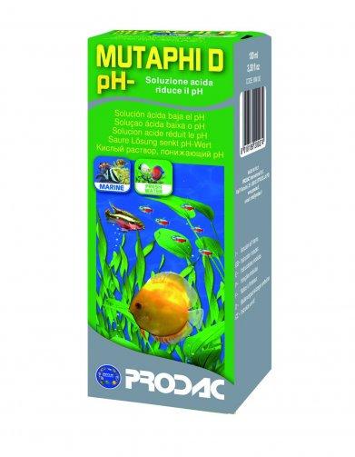 Фото Раствор понижающий уровень pН 6,5-7 Prodac Mutaphi