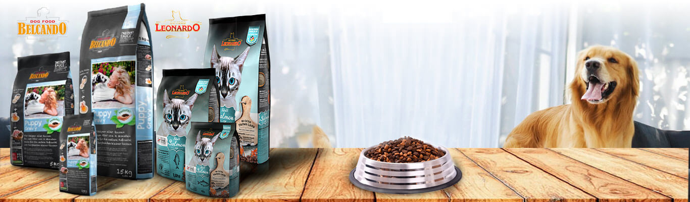 фото корма и консервов Белькандо и Леонардо